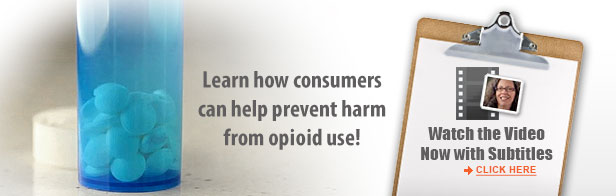 VIDEO Prevent Harm from Opioid Use