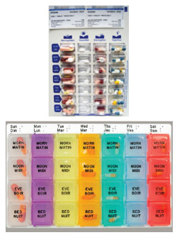 organization of medications